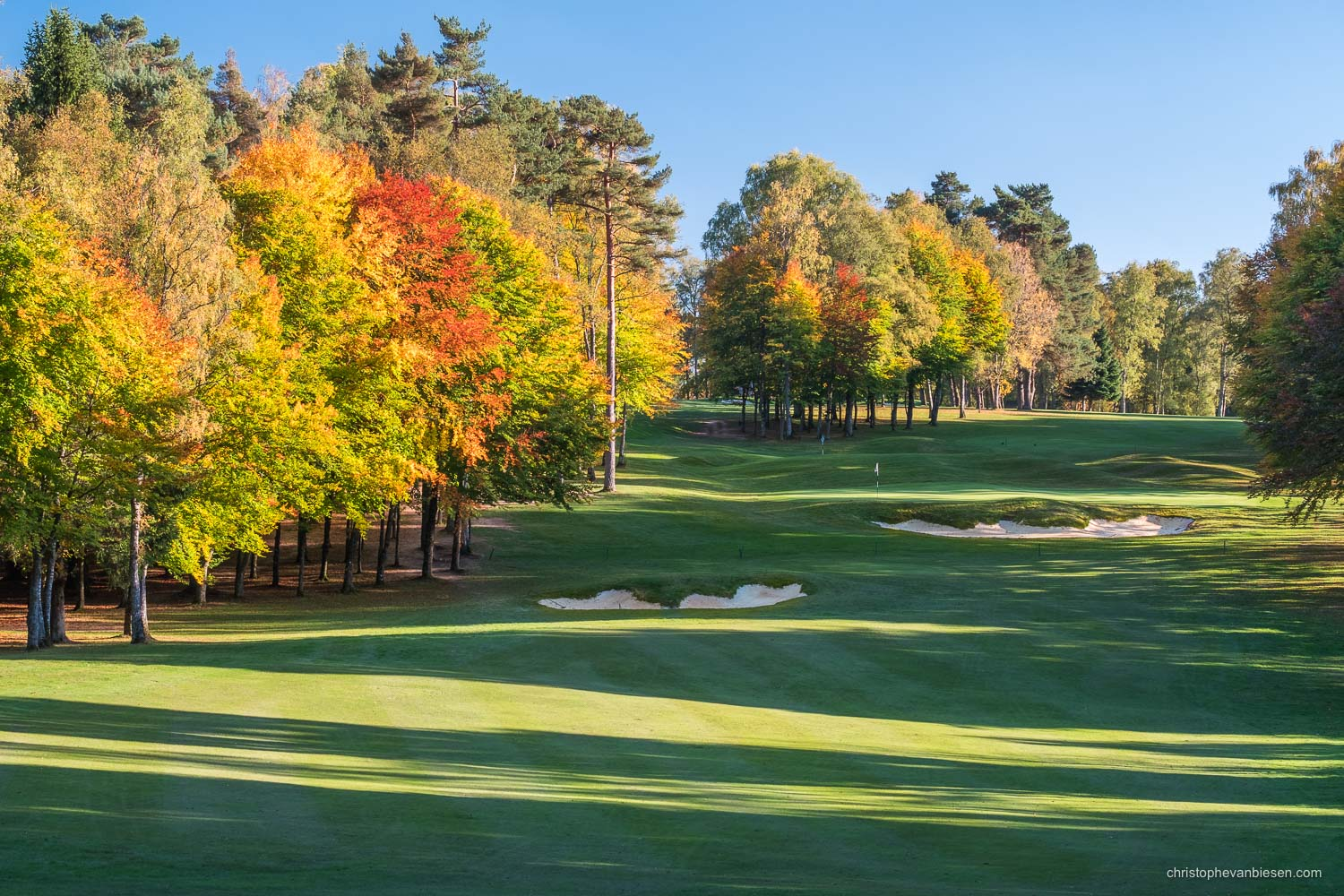 Work with me - Commission Work - Golf Club Grand Ducal Luxembourg Senningerberg - Hole 3 - Photography by Christophe Van Biesen - Luxembourg Landscape and Travel Photographer