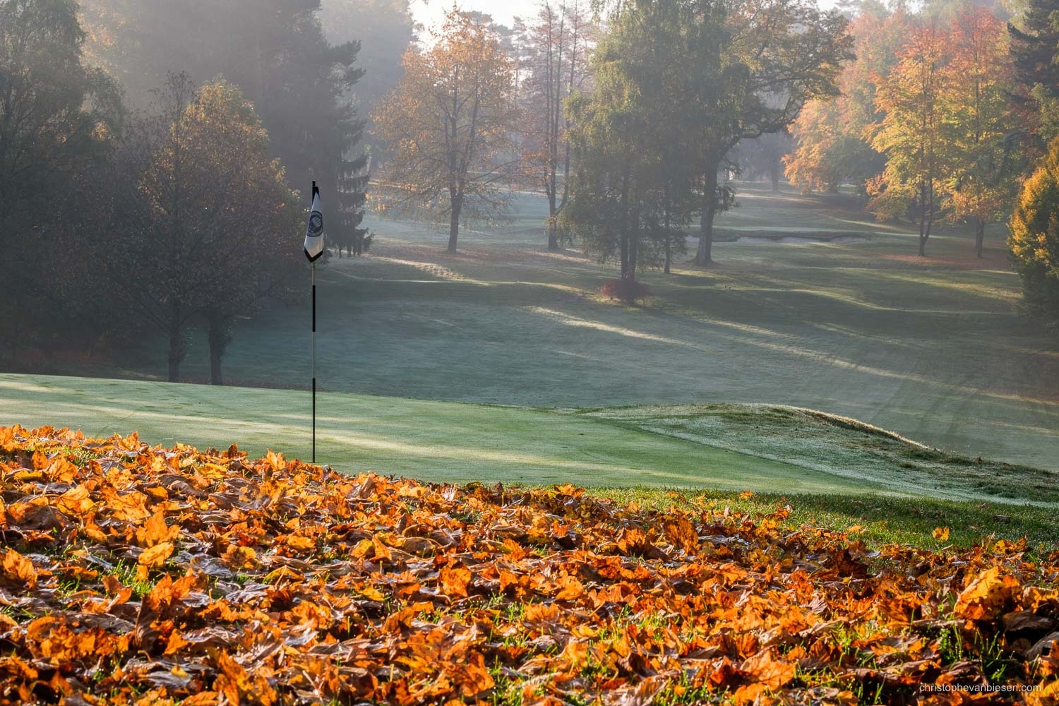 Work with me - Commission Work - Golf Club Grand Ducal Luxembourg Senningerberg - Hole 4 - Photography by Christophe Van Biesen - Luxembourg Landscape and Travel Photographer