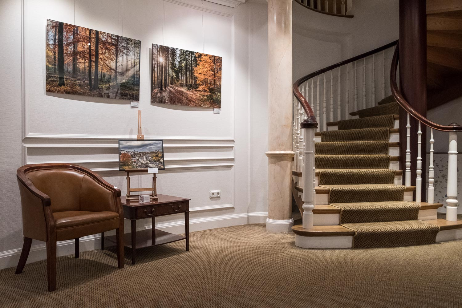 Seasons of Luxembourg by Christophe Van Biesen - Exhibition at the Cercle Munster - Photography by Christophe Van Biesen