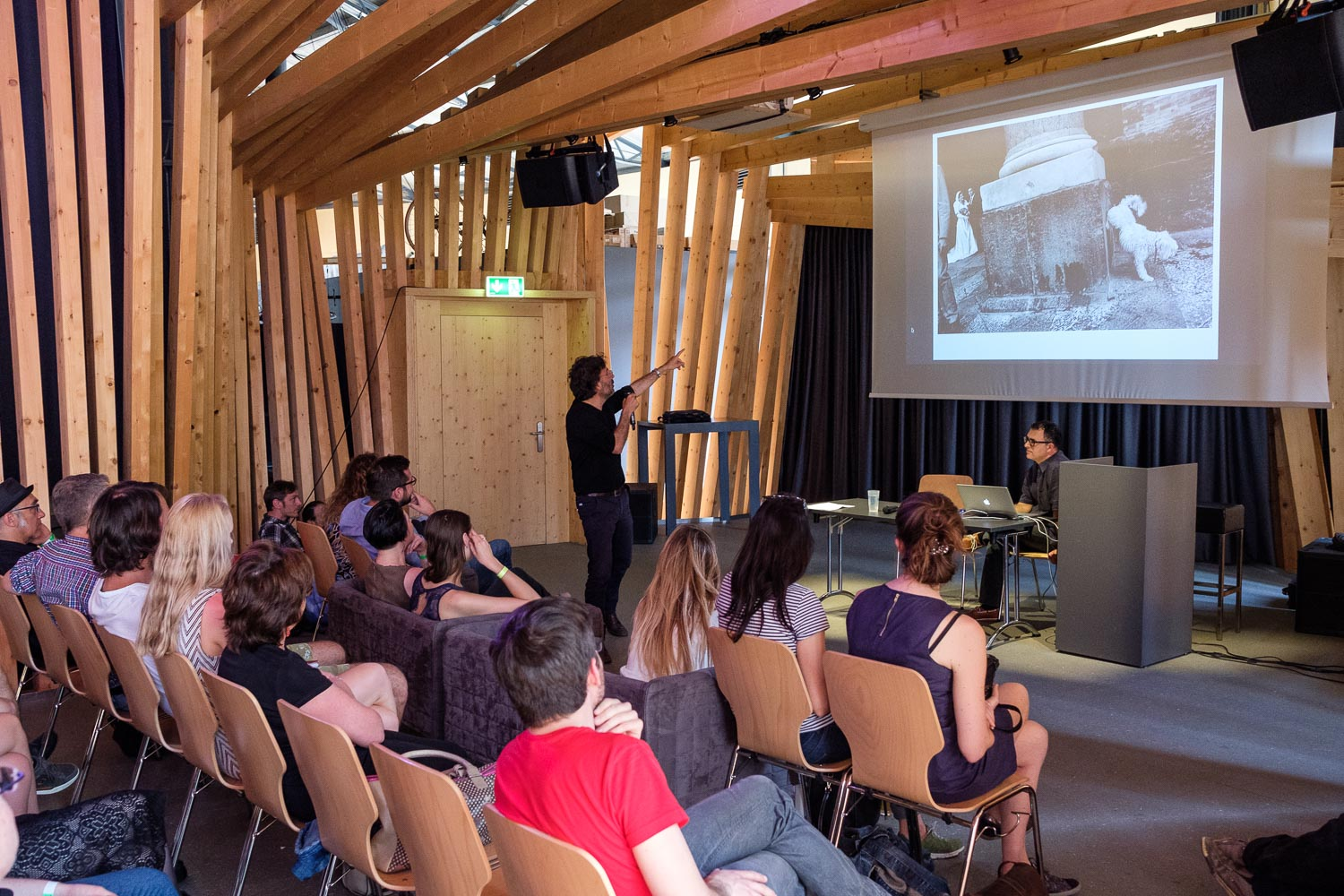 Luxembourg Street Photography Festival at Rotondes - Conference with Txema Salvans - LSPF 2018 - Photography by Christophe Van Biesen - Luxembourg Landscape and Travel Photographer