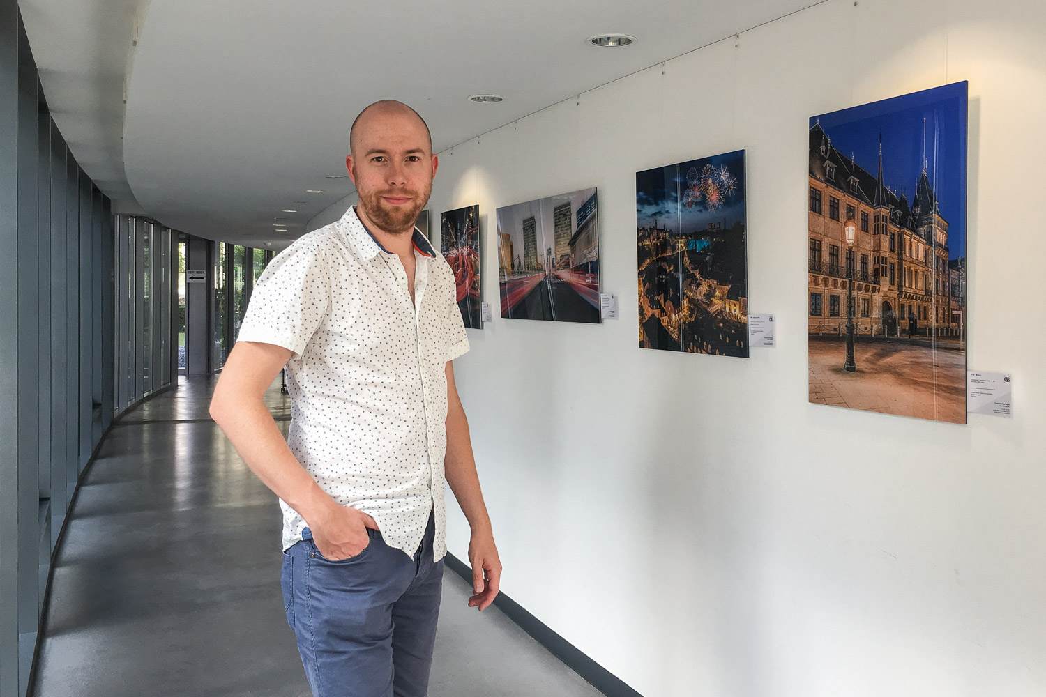 Exhibition at the European Court of Auditors - Photography exhibition by Christophe Van Biesen at the ECA in Luxembourg City - Photography by Christophe Van Biesen - Luxembourg Landscape and Travel Photographer