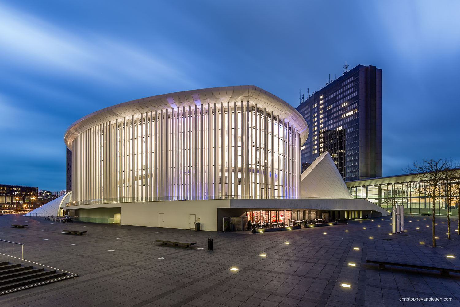 Top 25 photos made in Luxembourg - Luxembourg City's Philharmonie concert hall