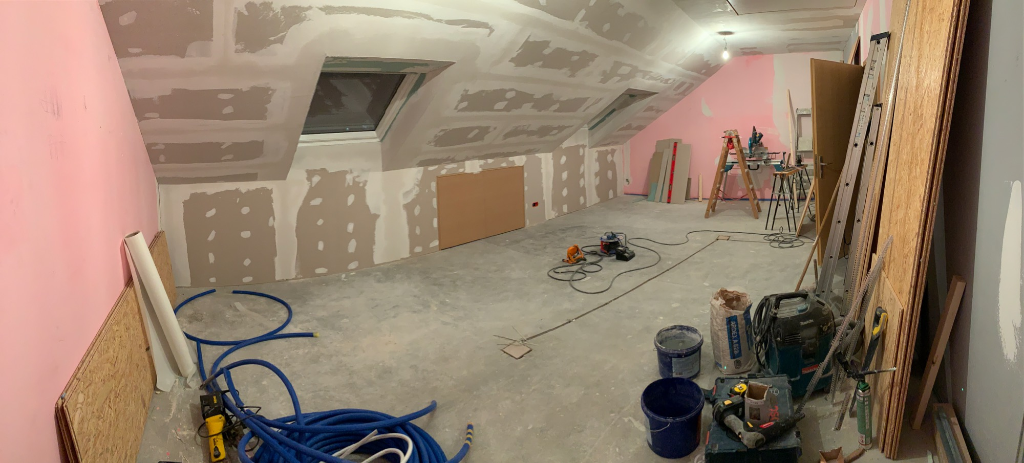 Work in progress - Renovations on new photography studio