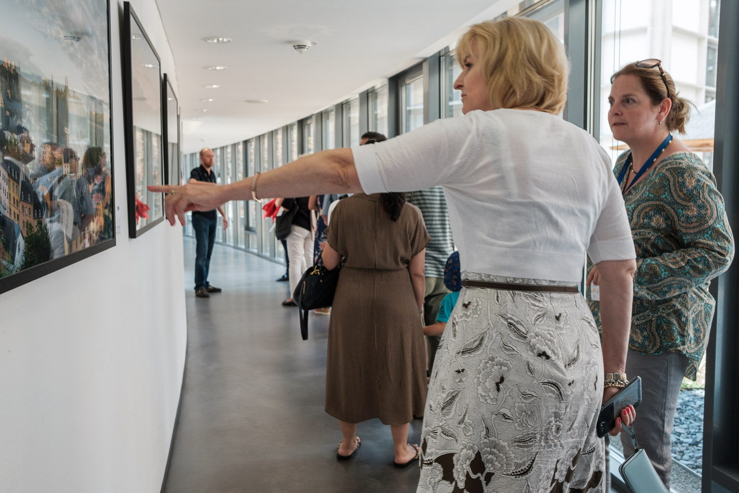 Guided Visit - Photography exhibition by Christophe Van Biesen at the ECA in Luxembourg City