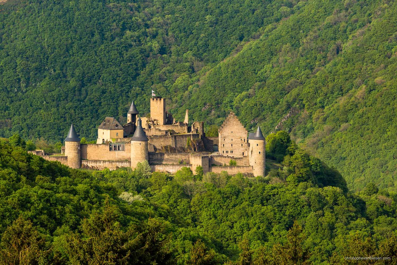 Chateau de Bourscheid - Luxembourg - Bourscheid Castle in Luxembourg - King of the Hill