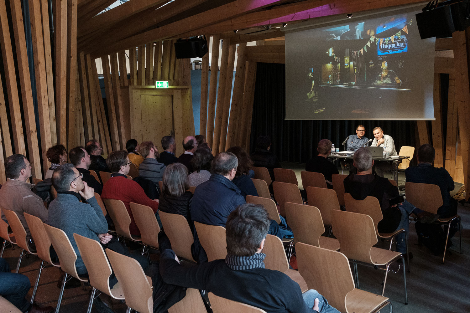 Luxembourg Street Photography Festival 2019 at Rotondes - LSPF 2019 - Conference with Pierre Gély-Fort