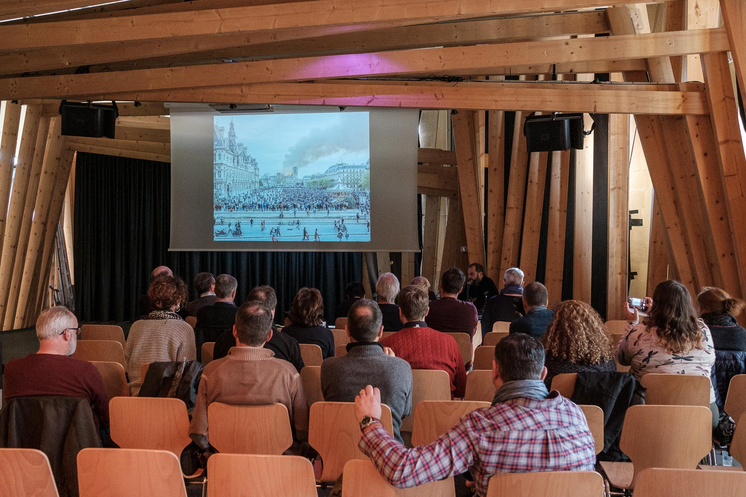 Street Photography Festival 2019 at Rotondes - LSPF 2019 - Conference with Cyril Cornut