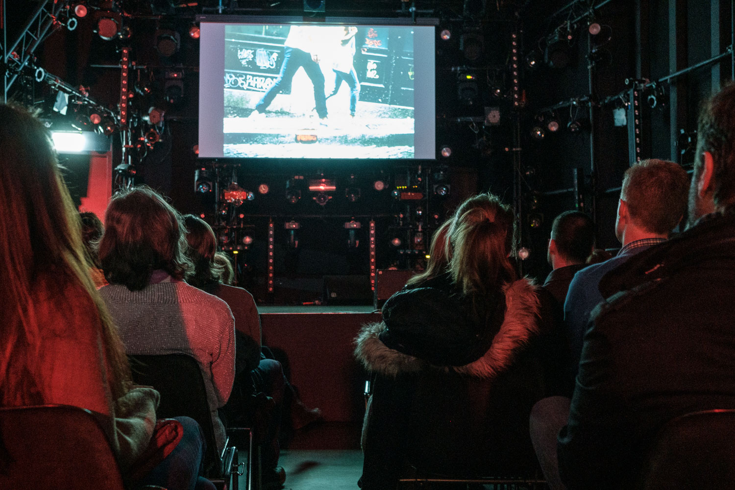 Luxembourg Street Photography Festival 2019 at Rotondes - LSPF 2019 - Slidenight