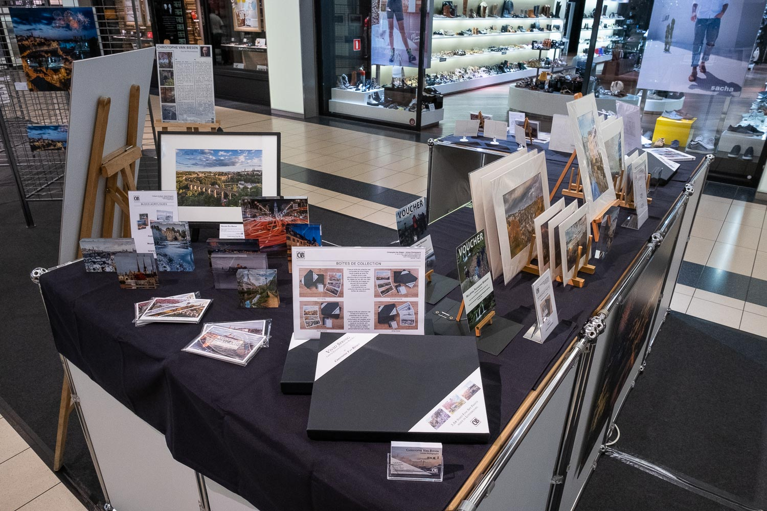 Celebrate Luxembourg - Pop up store - National Day Photography Exhibition - Belle Etoile Shopping Center - Christophe Van Biesen