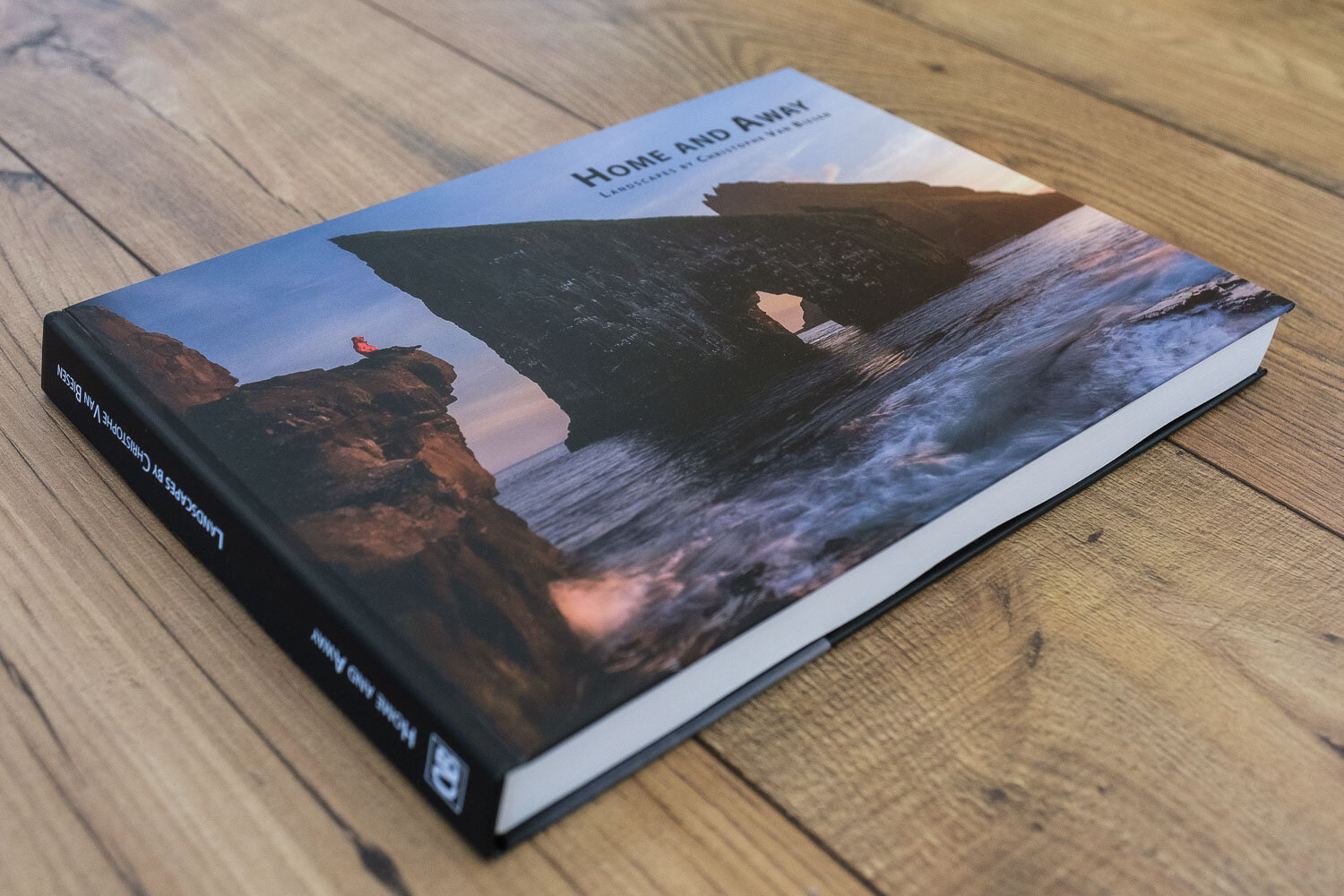 Coffee Table Book - Photography Book - Am Tunnel Exhibition - Home and Away - Landscapes by Christophe Van Biesen