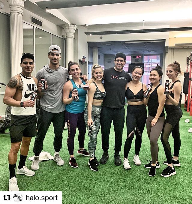 Another great event brought to us by @halo.sport 💪  #Repost @halo.sport with @get_repost ・・・ Last night, HALO Chief Wellness Advisor @donsaladino hosted a kickass workout class with some of NYC's top lifestyle and fitness influencers. 👊🏻💥