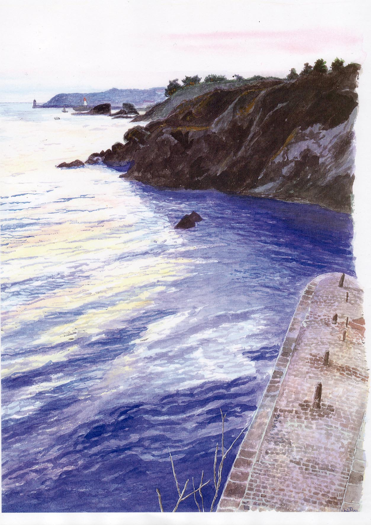 Groix, Port Lay