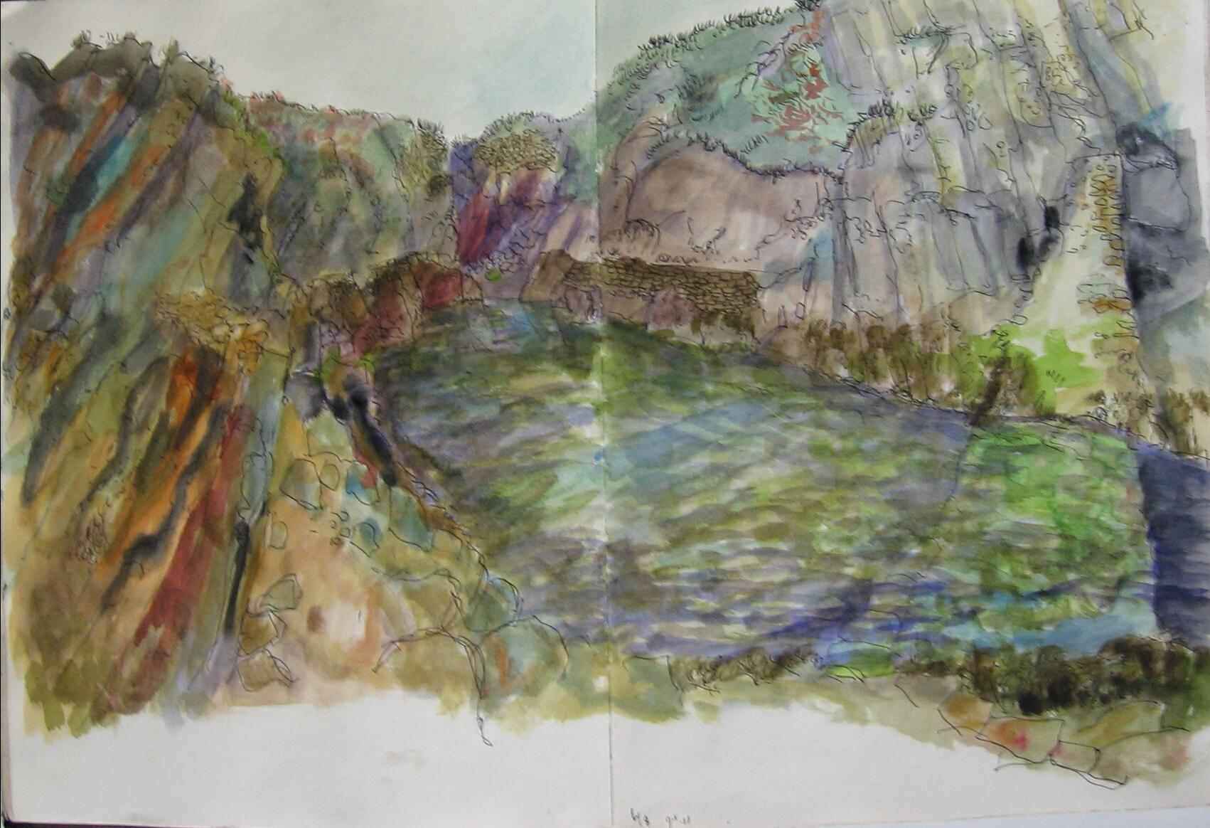 Groix, altes Becken