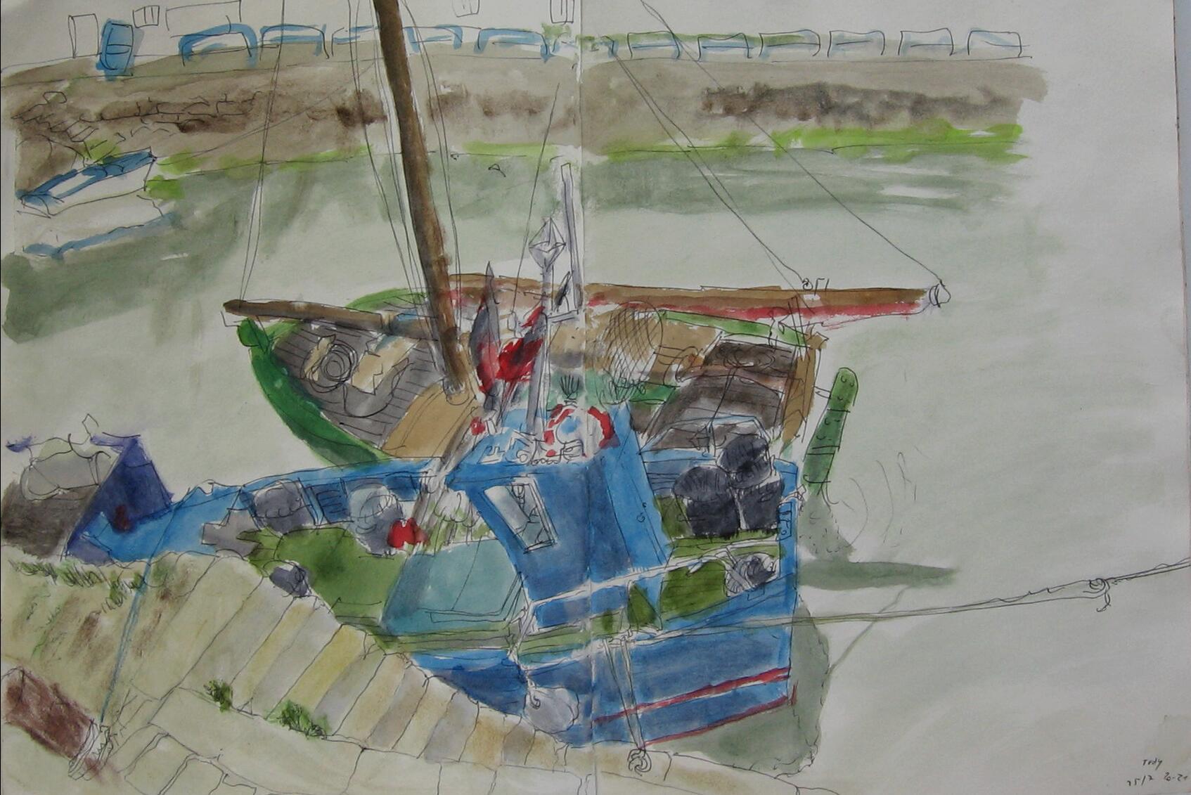 Port Tudy, boats