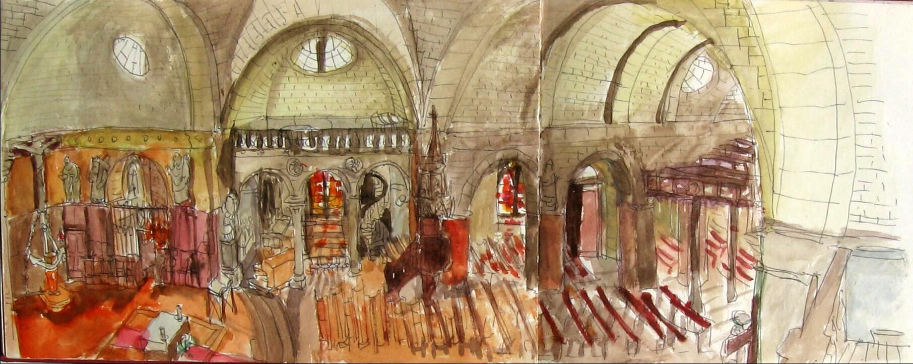 l'église Le Bourg