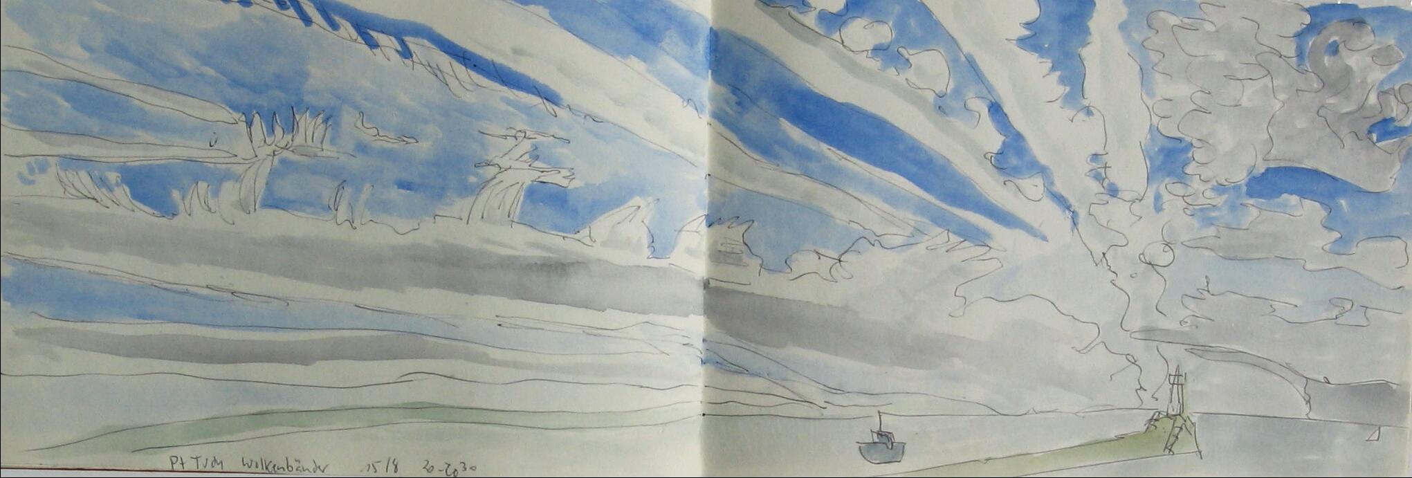 Wolkenbänder