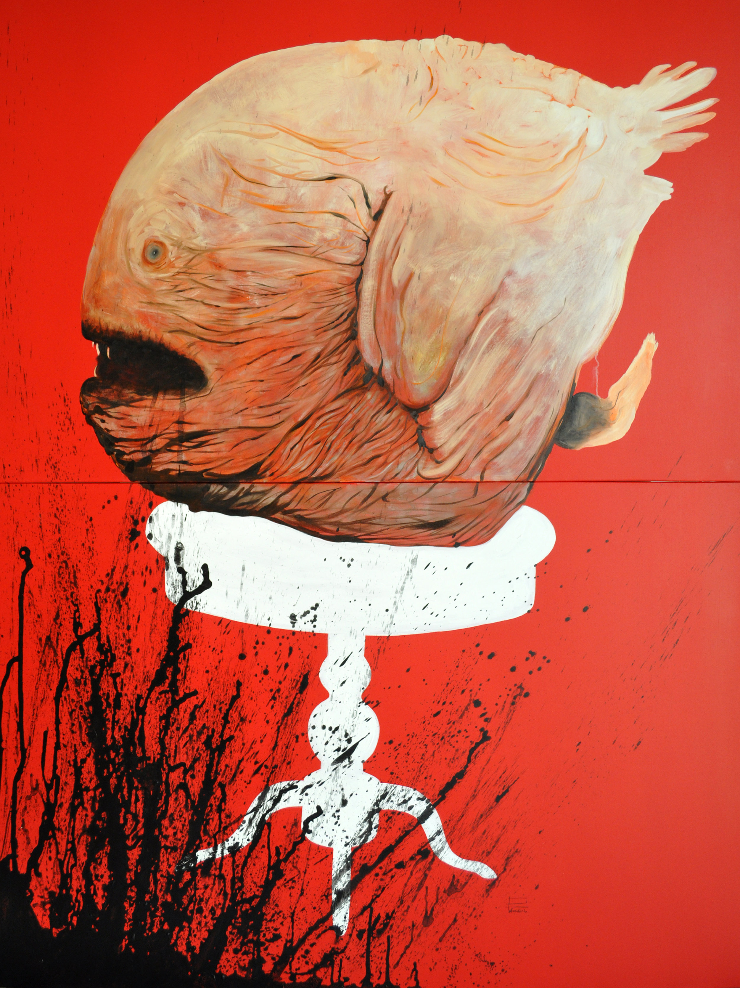 From series Domestic Animals. Acrylic on canvas 150x200 cm.jpg