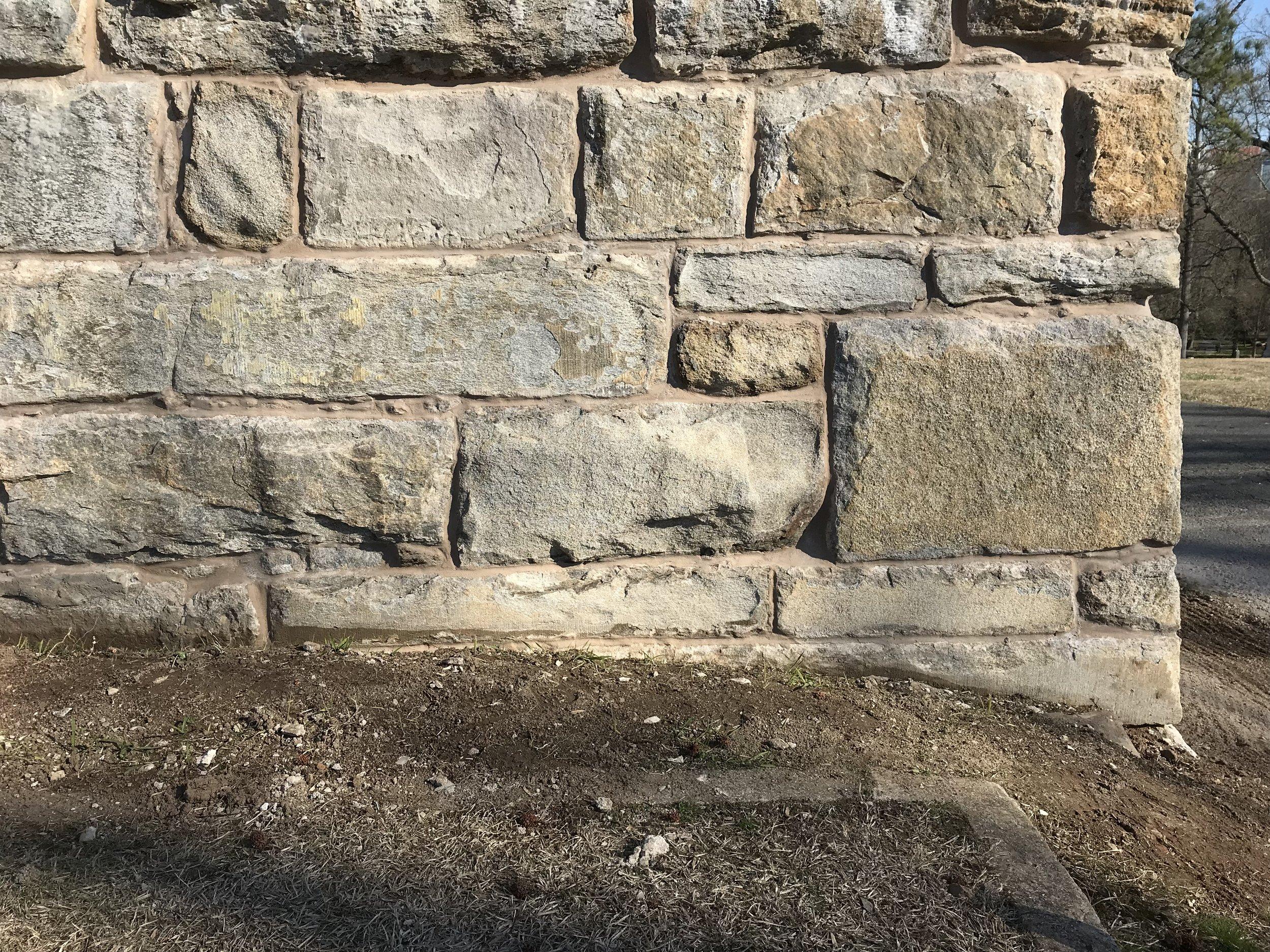 Restored Stone Work