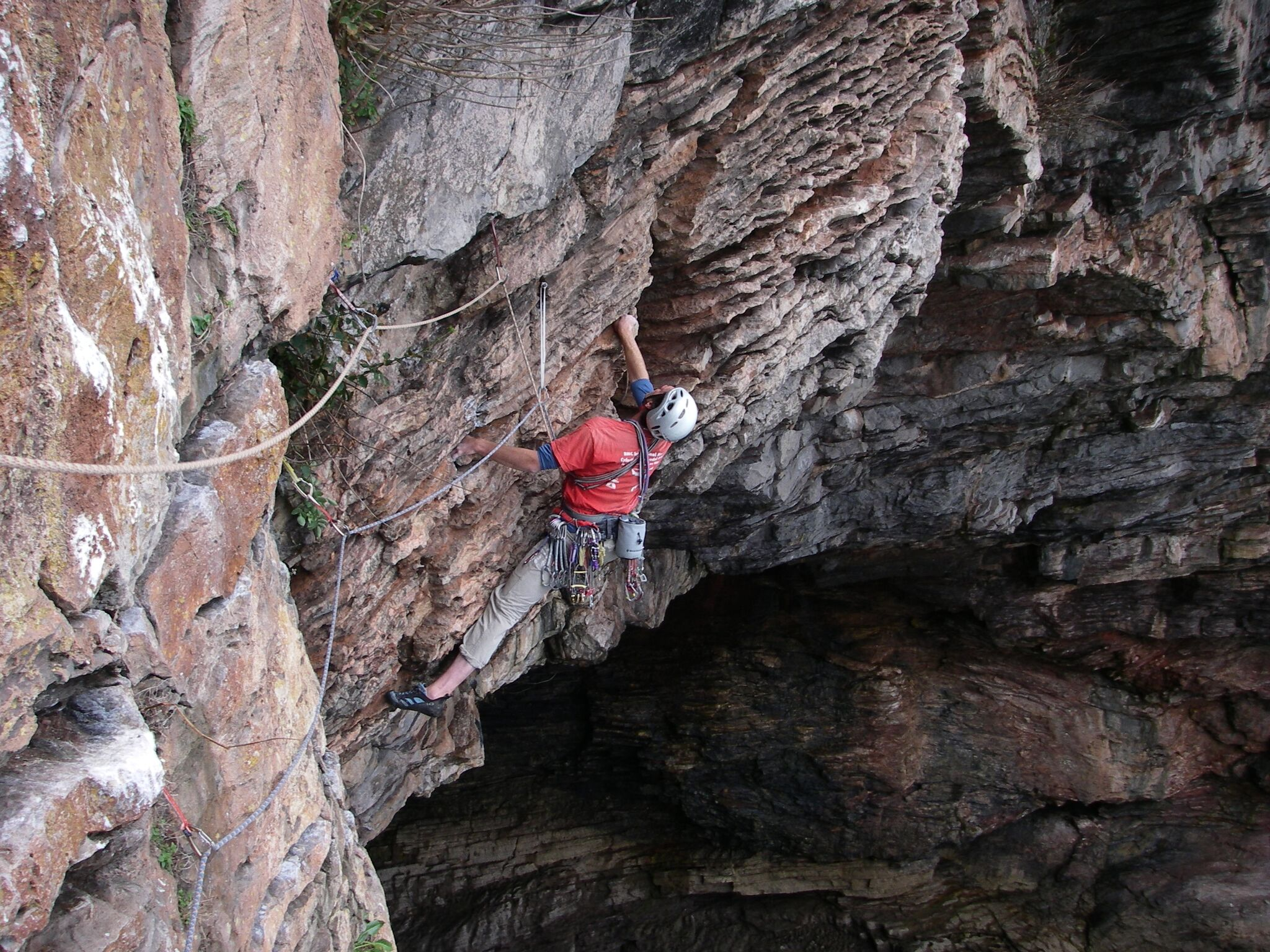 Tim on Dreadnought - Berry Head -
