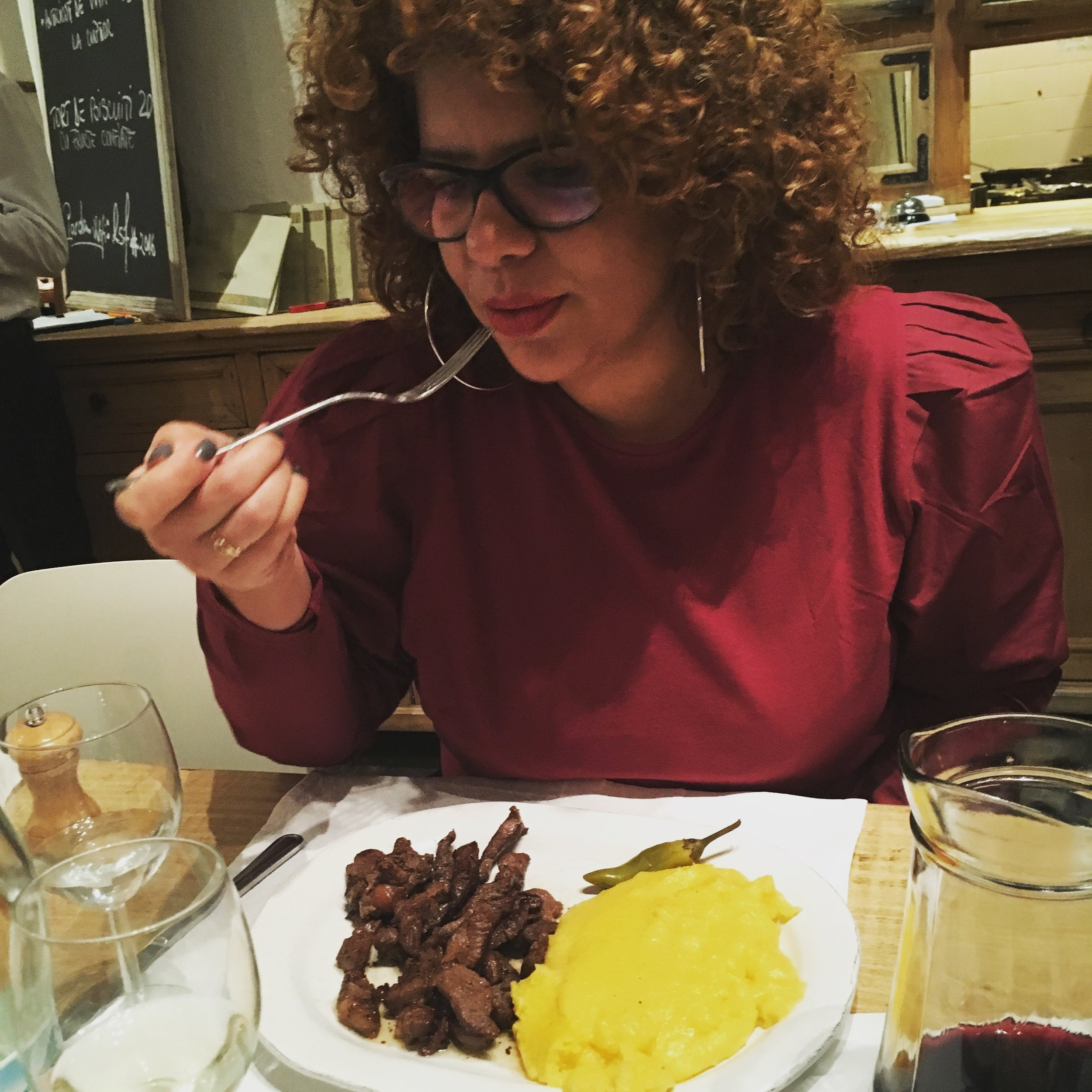raluca and mutton pastrami