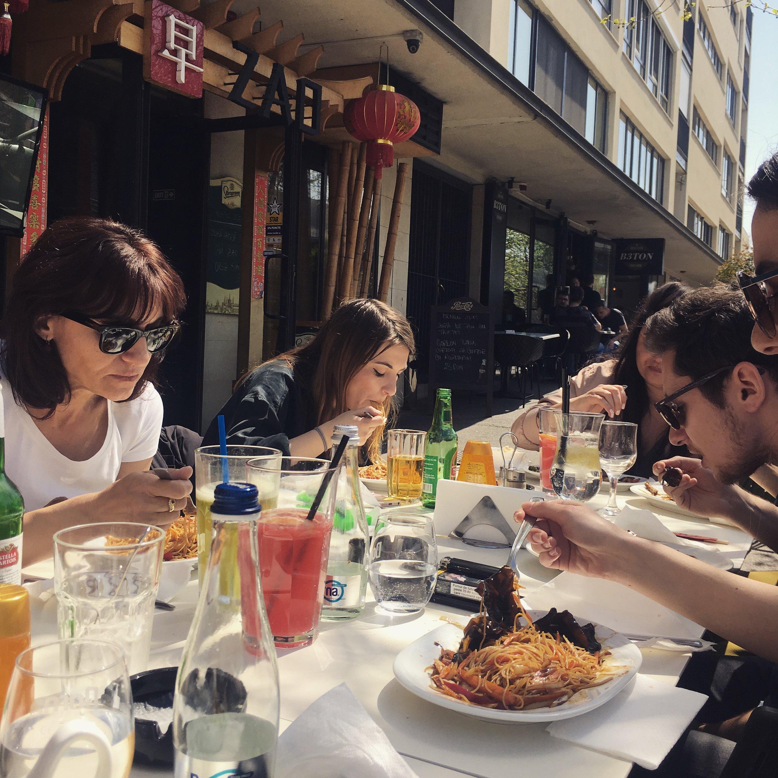 restaurant zao bucharest