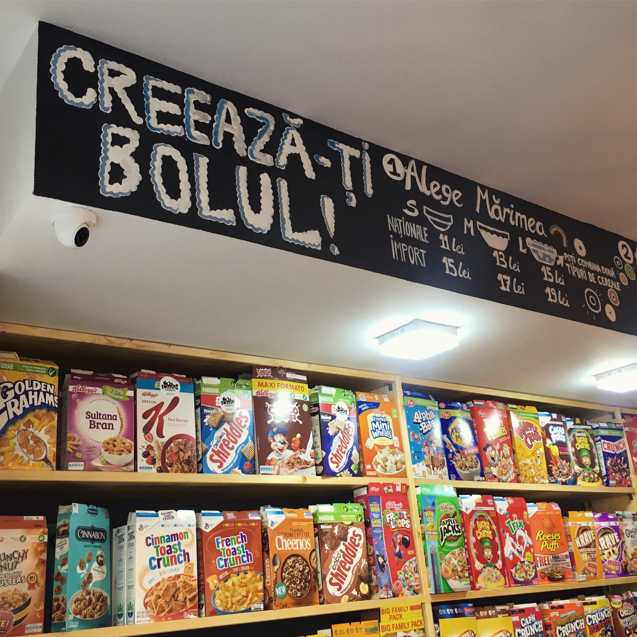 cereal crunch cafe bucharest