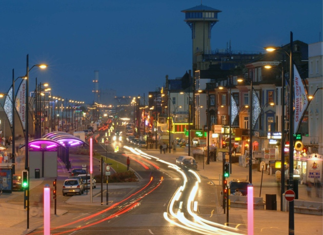 Great Yarmouth Seafront, pic via The Great Yarmouth Mercury
