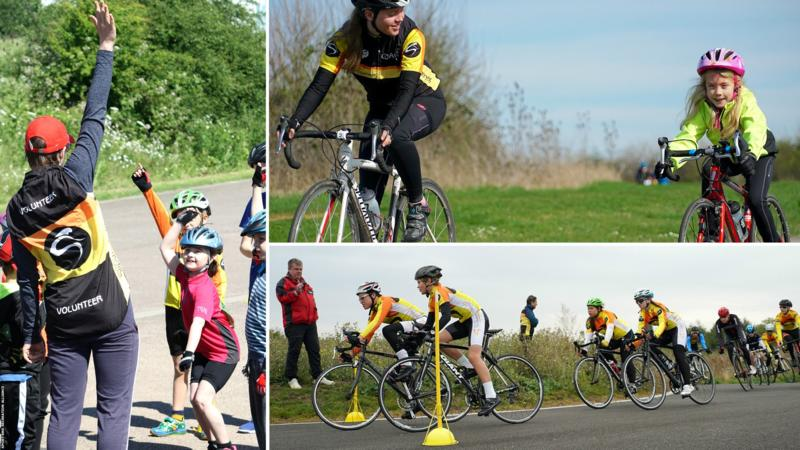 Hillingdon Slipstreamers cycling club were recognised in 2017 for their volunteering work
