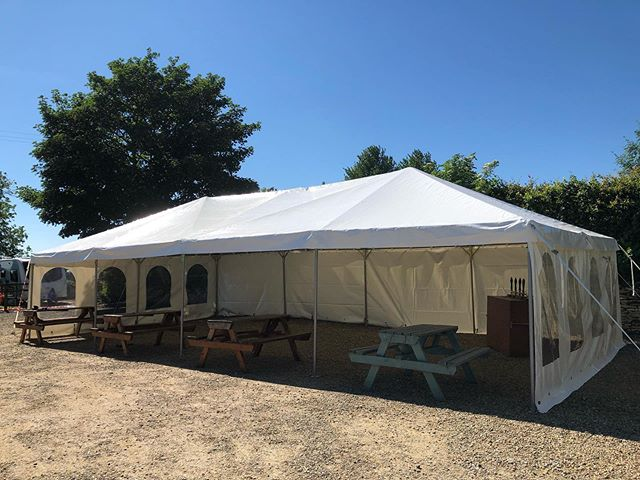 Jess Glynne might have cancelled but the beer festival isn't! The marquee is up and With live music from Steve and the Cycopaths and 16 cask ales to try there's no where else to be!