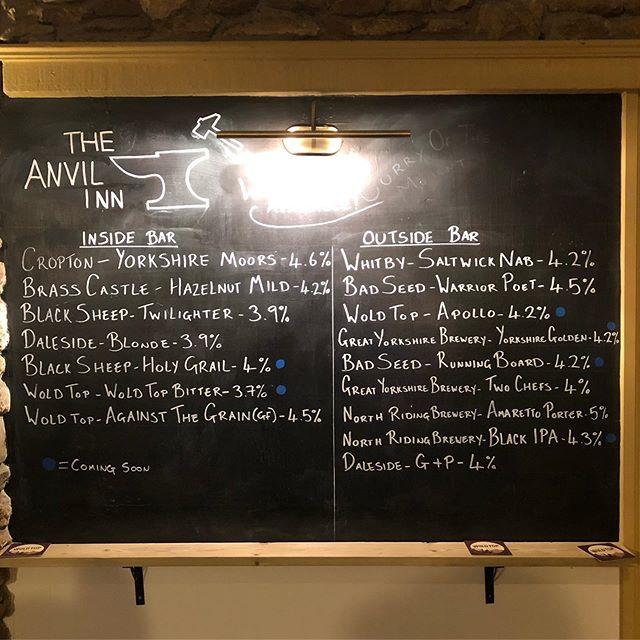 Here it is! Full list of beers that are available tomorrow! The marquee is up, the bar is ready, just a last few finishing touches in the morning and we're ready to go!