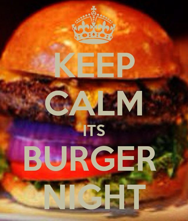 Don't forget! It's Burger Night tonight!  Get one of our burgers plus a pint from just £10!