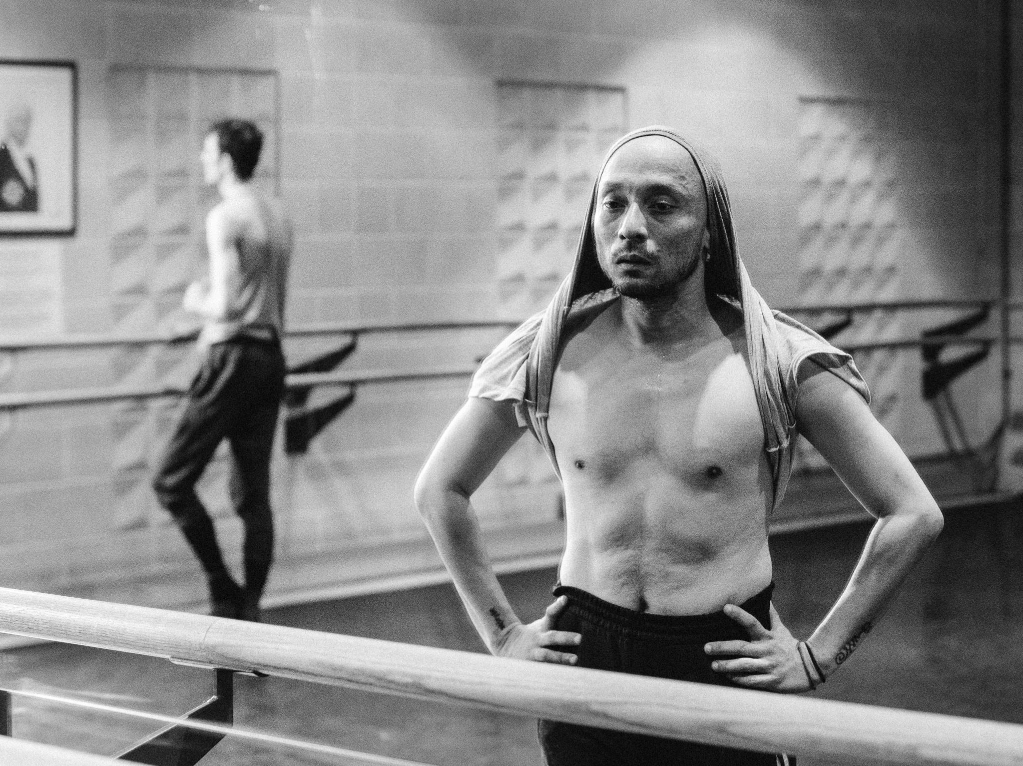 Mavin Khoon - Man to Monk rehearsal -