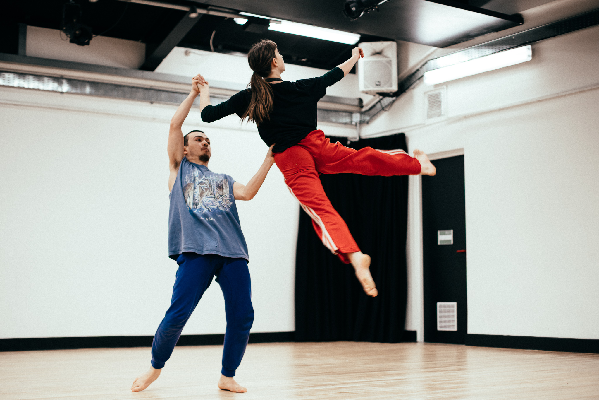 Shoreditch Youth Dance - Rehearsals -