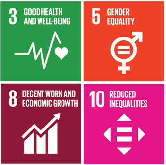 United nationsSUSTAINABLE DEVELOPMENT GOALS - LinkS to UN SDG 3, 5, 8 & 10