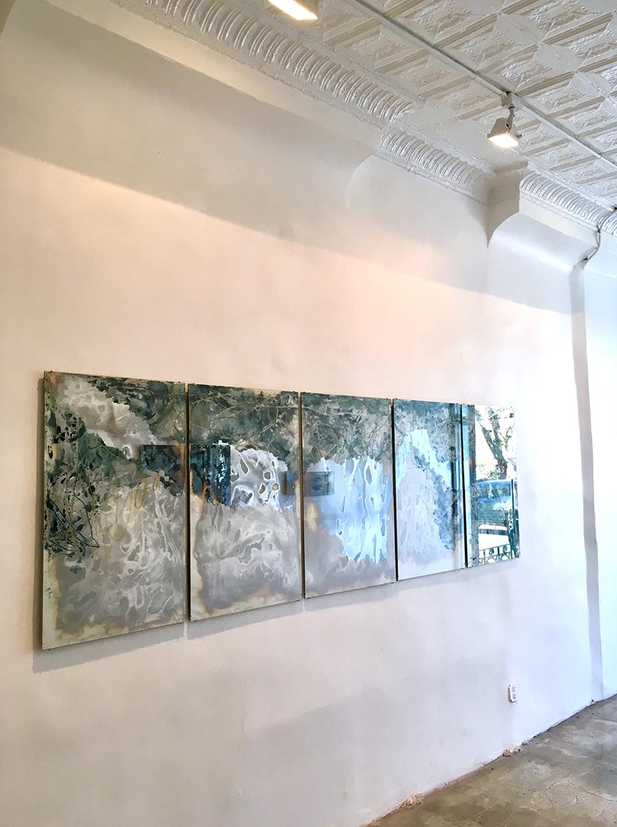 Installation view, Laura Sallade, Deep to Deep