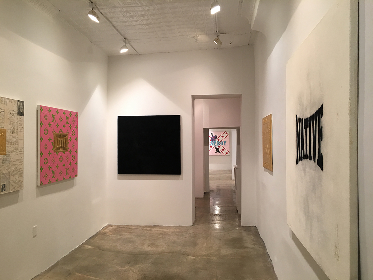 Installation view, Michael Holman, Where am I coming from, Do you ask this of the sun?