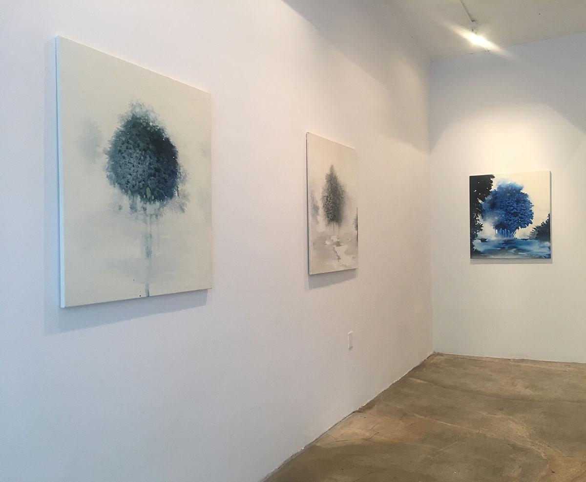 Installation view, Giulia Dall'Olio, Suspension