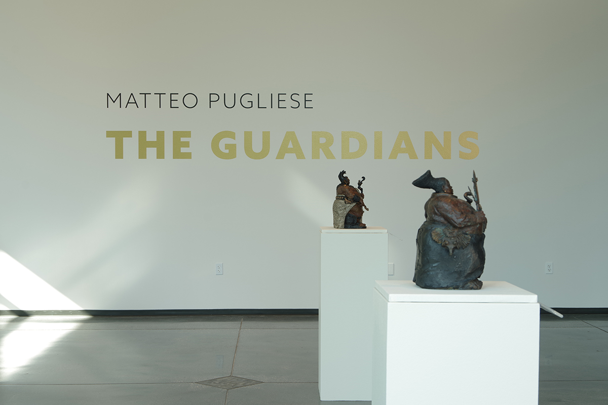 Matteo Pugliese: The Guardians; August 11, 2018 – January 6, 2019, Exhibition image courtesy of the Boise Art Museum