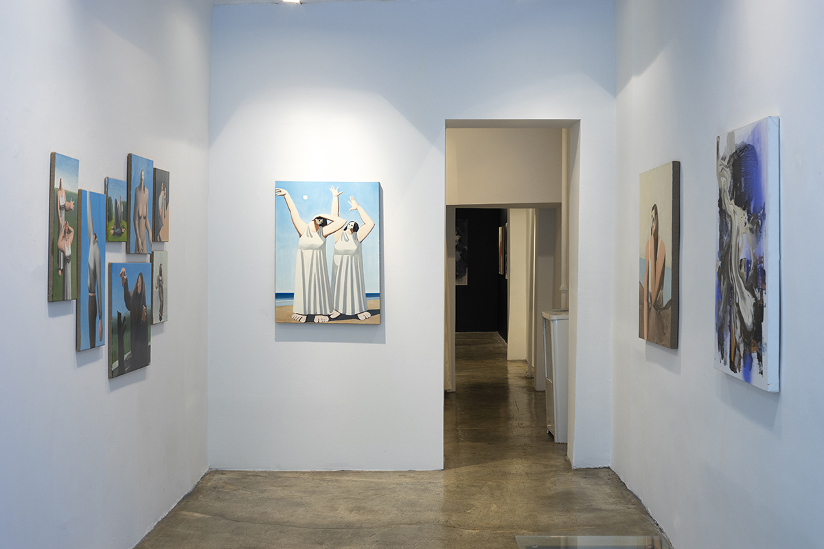 Installation view, Summertime Sadness