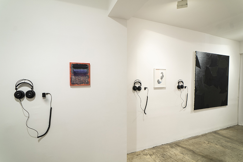 Installation view of Willie Green: Press Play