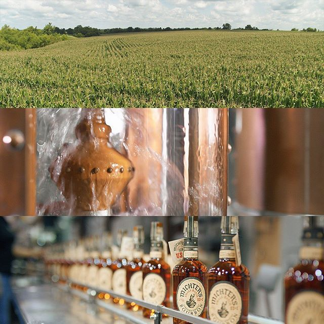 Some frame grabs from our shoot @michterswhiskey ... pretty cool to see the whole process from grain to glass! #cheers #processvideo #videoproduction