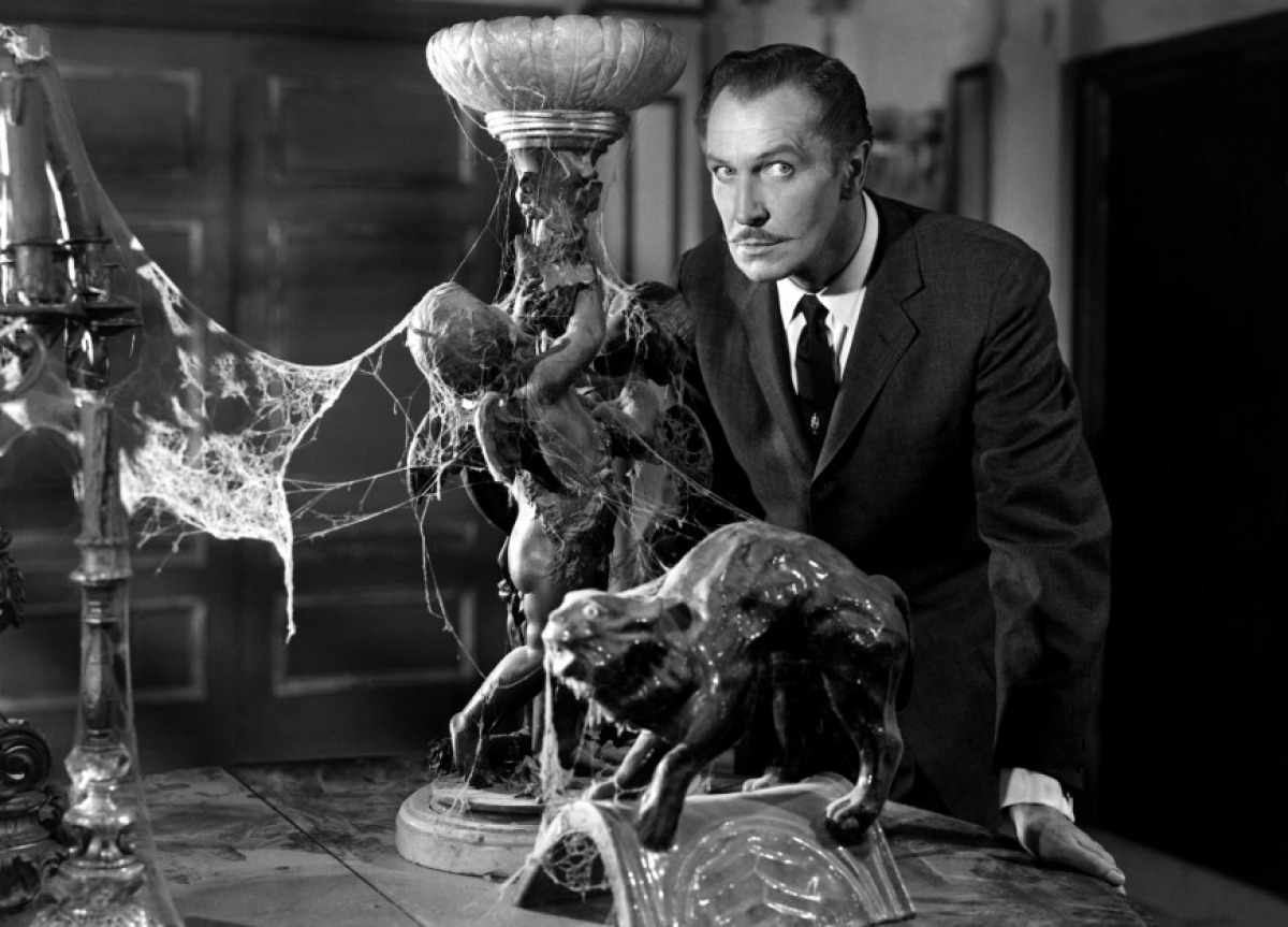 Vincent Price in House on Haunted Hill (1959).