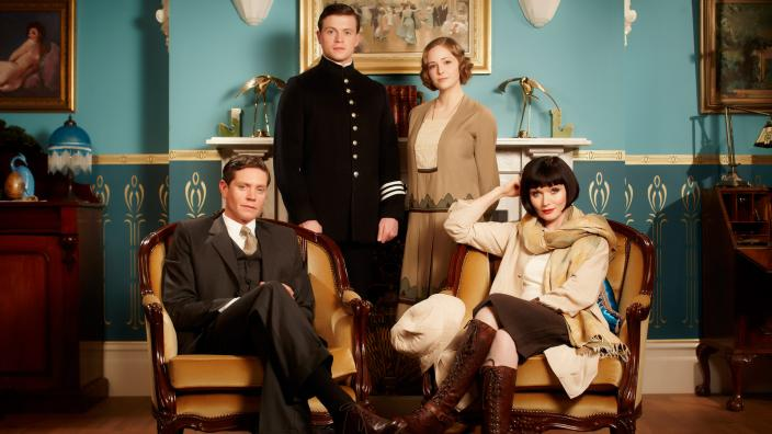 The cast of  Miss Fisher's Murder Mysteries.  ( Courtesy of ABC TV )