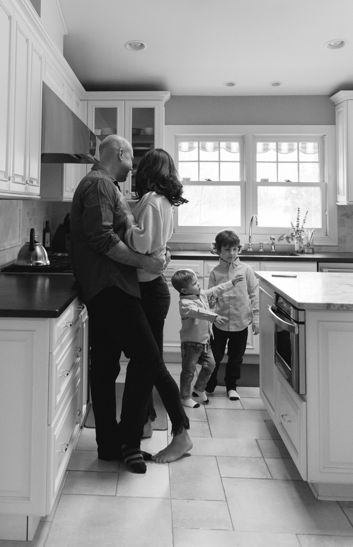 In home family session in the kitchen dancing  New York Family Photographer Helene Stype 0419-10.jpg
