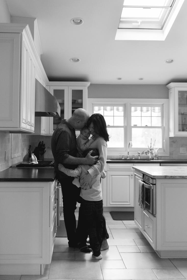 In home family session in the kitchen New York Family Photographer Helene Stype 0419-4.jpg