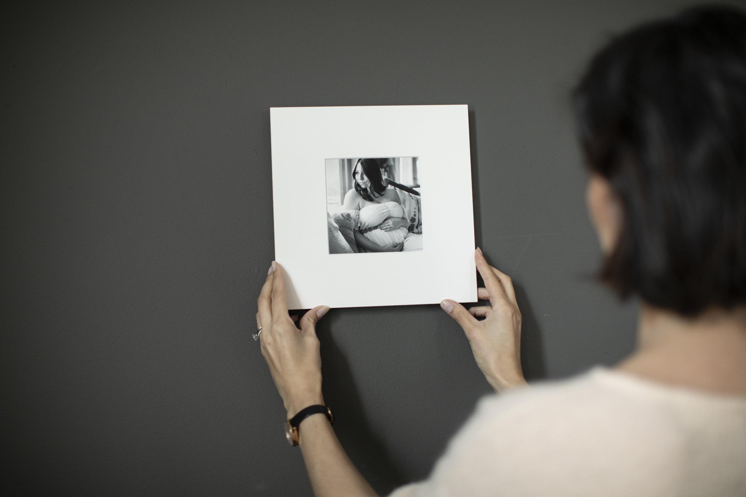 NYC Maternity Photographer - fine art Matted Print