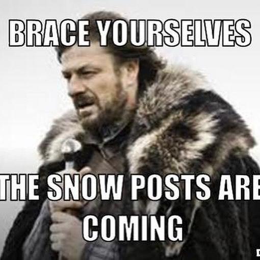 some make fun of people for posting snow pics. shove it. here's more. #cchfarm #snow #farmsnow #snovember