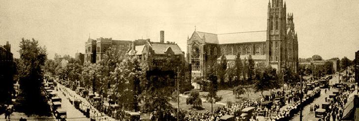 St. Columbanus, South Side Chicago, c. 1923. source