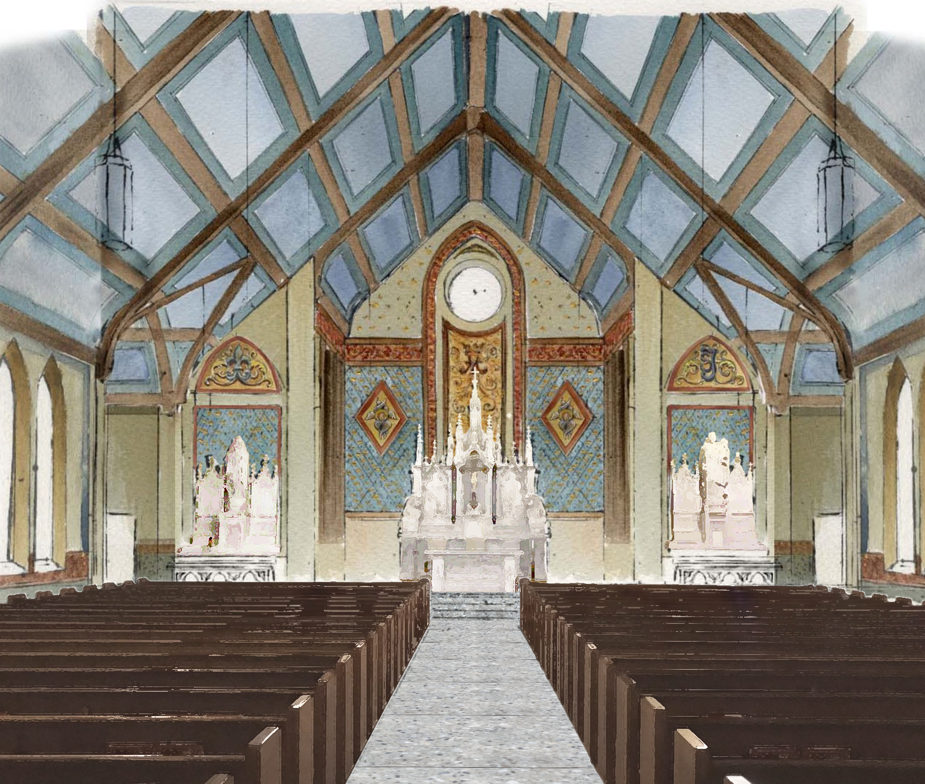 St. Mary of the Assumption by Canning Liturgical Arts