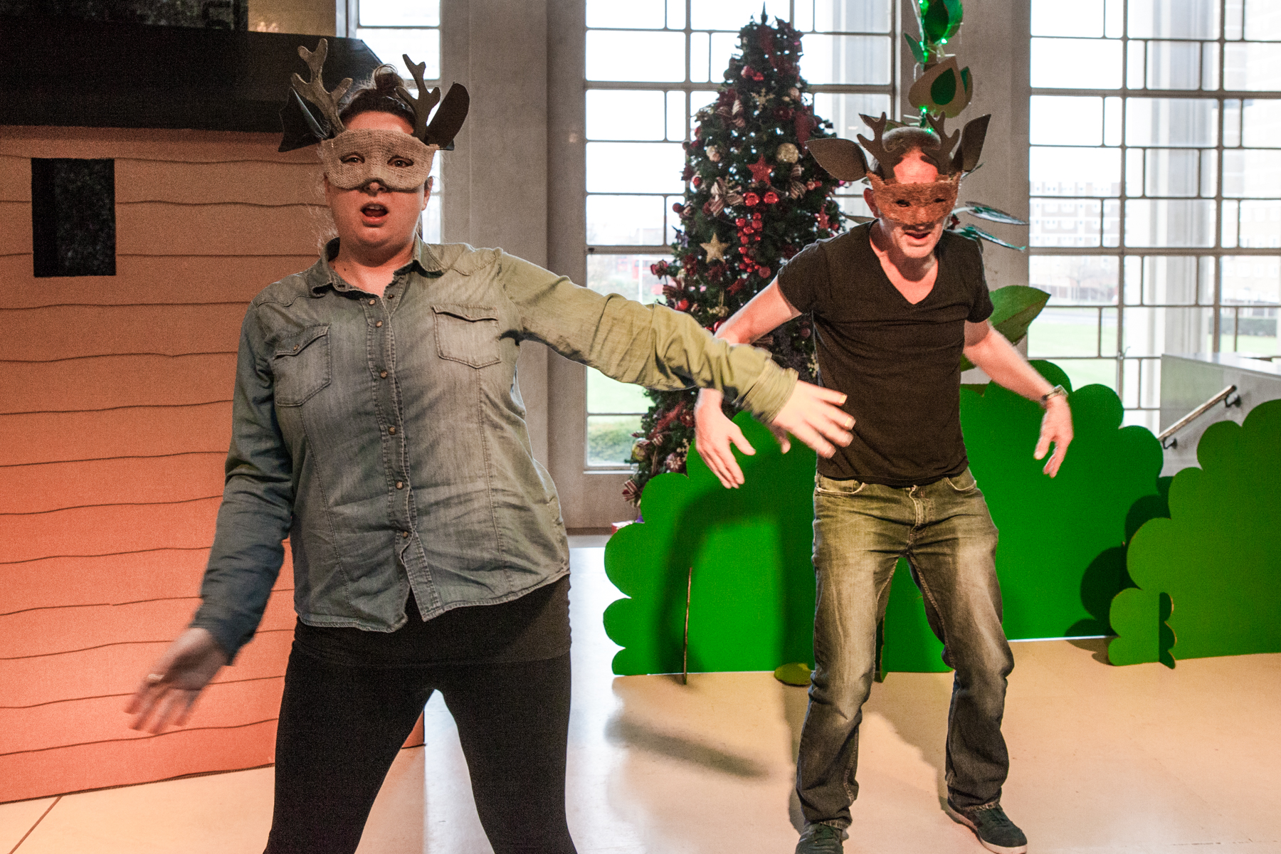 Jack, Jill and the Beanstalk pantomime performed at The Civic Centre
